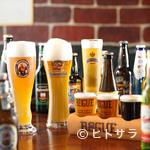 レストラン バー アミューズメント - 生ビールで11種類、瓶は40種類。ビールの楽しさを伝えたい
