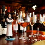 レストラン バー アミューズメント - 旬な話題や季節に合わせた世界のワインも揃います