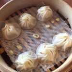 鼎泰豐 - 海鮮小籠包3種盛り(ホタテ・ずわい蟹・ウニ)