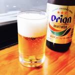 67879614 - オリオンビールでぷはぁ♡
