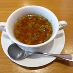 炭火焼 ONE - スープ付き