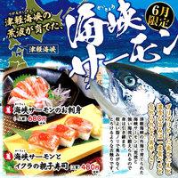 寿司ろばた 八條 - 6月限定 津軽海峡の荒波が育てた『海峡サーモン』