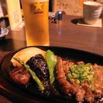 創作和食 田 - 和牛ステーキとビール