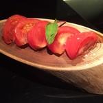 67884938 - 小皿料理(冷やしトマト)