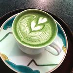 ぼうずン・コーヒー - 抹茶ラテ