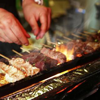 くせのないあっさりした味わい!「上州豚」を使用した絶品串焼き