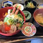 魚処丸正 - 海鮮丼+しらすおろし