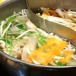 しゃぶ菜 - 昆布だしとすき焼きをチョイス。