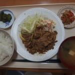 さくら食堂 - 料理写真:焼肉定食500円