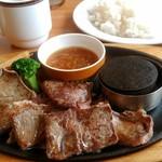 ココス - 料理写真:みすじカットステーキ