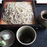 竹庵 - 料理写真:「せいろそば ¥609」