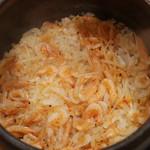 綾 - 桜エビと生姜の炊き立て土鍋ご飯