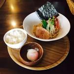 汁なし麺専門店 メンデザイン - 油そば 醤油(780円)