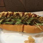 67897116 - 煮穴子の天ぷらドック