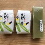 醒井水の宿駅 みゆき - 料理写真:天野川蛍・梅花藻ういろう