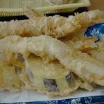 だるまの天ぷら定食 大野城店 - 『極 定食』1,100円。