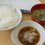だるまの天ぷら定食 大野城店 - ご飯中盛り。