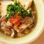 福島かじゅある肉割烹 おおよどや 隠れ家 - 肉どうふ