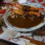 レストラン北浜 - 料理写真:エビカレー