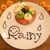 カフェ パンプルムゥス - 料理写真:6月限定★ケロちゃんパンケーキ