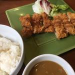 レストラン ティカル - ♪タレに漬け込んだわらじチキンカツ¥700