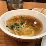 台湾担仔麺 - 担仔面つきです