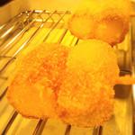 京おばんざいと串揚げ 彩り - チーズちくわ