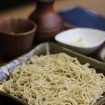 蕎麦匠 源 - 料理写真:〆のモリは10割蕎麦