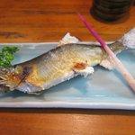 中居屋 - 鮎の塩焼き