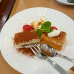 Zao - ピッツァランチのデザート