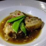 ラ・ダム・ヒロ - 豚肉のバルサミコ煮