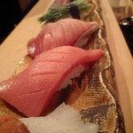 6791666 - 寿司7貫赤出汁付き¥1.500-