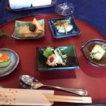 エルフィンレストラン - 料理写真:前菜5品