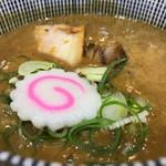67912740 - 濃厚特製つけ麺 1,050円 濃厚豚骨と魚介スープのバランスが良く、双方の良いところだけ味に出ています。私にはしょっぱいですけど^_^。