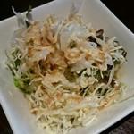 和印道 - セットのサラダ。