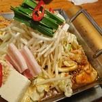 てつ - ホルモン鉄板鍋