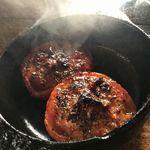 67913593 - トマトとアンチョビのオーブングリル