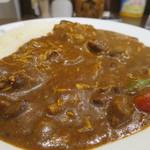 CoCo壱番屋 - チキンと夏野菜カレー(ビーフソース・きのこトッピング・10辛)アップ