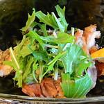 Bishokubisaiichigoichie - 淡路地鶏の油淋鶏