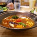 67915879 - 野菜のスープカレー