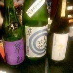あきた美彩館 - 純米吟醸 翠玉、雪の茅舎「美酒の設計」、亜麻猫