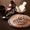 御清水庵 宮川 - 料理写真:コースの一品。福井県産在来種、抜の挽きぐるみ。もり蕎麦。