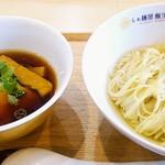 らぁ麺屋 飯田商店 - つけ麺1000円税込