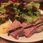 67917621 - 豚肉と鶏白レバーのテリーヌ 1600円