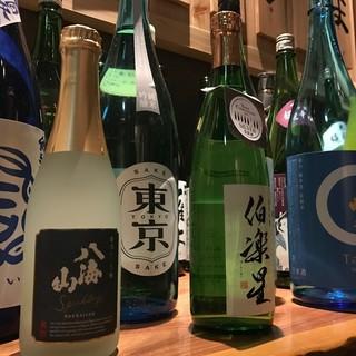 【厳選地酒】四季折々、全国各地の銘酒をお愉しみください!