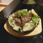 旬菜 七十七 - 牛舌うま塩炒め