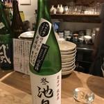 酒カネダ - 誉池月 超辛口 純米酒 佐香錦 7号酵母 無濾過生原酒 28BY