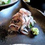 地魚料理 おくむら - 地魚料理 おくむら @佐島 鰯刺身
