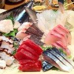 魚金 池袋店 - お手頃三点盛り(七種盛り?)