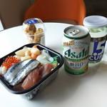宮崎 丼丸 - フェリーで一人宴会